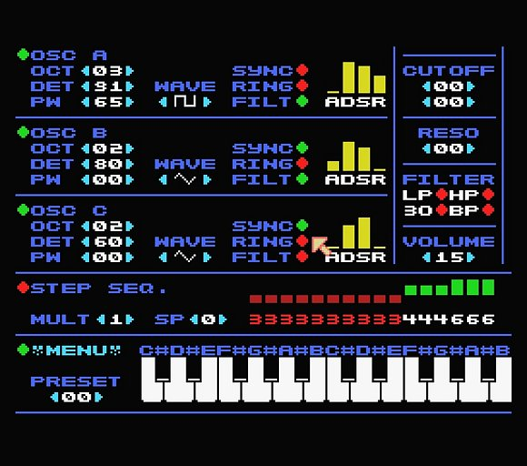 MSXsynth - SID-
